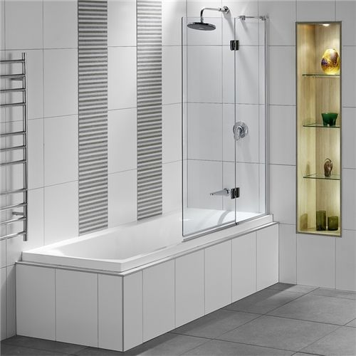 Tips For A Shower Tub Combination Ideas Shower Over Bath Bath Shower Screens Bathroom Design