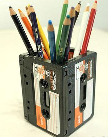 Obsolete tape turning waste into treasure doing Pen