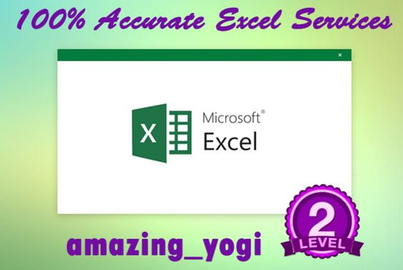 do Data Entry in Excel by amazing_yogi