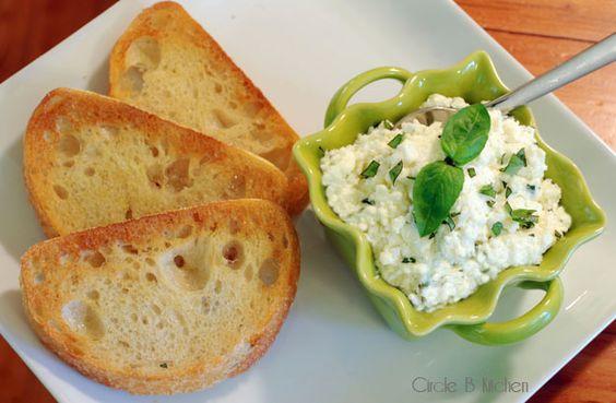 Ricotta Cheese onEverything! - Circle B Kitchen - Circle B Kitchen