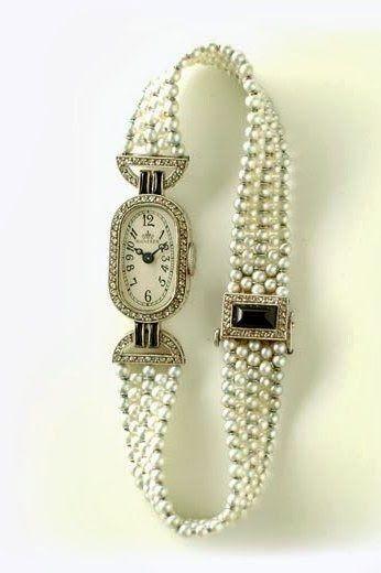 Verger Art Déco Wristwatch - 1920 - @~ Mlle