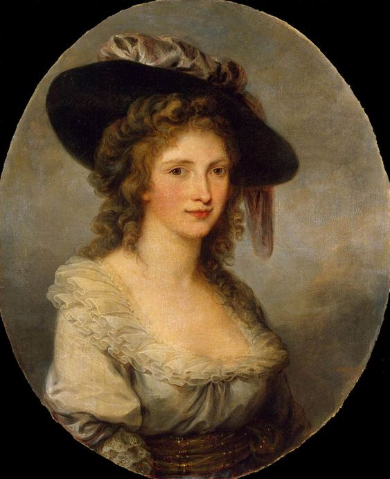 source: http://www.wga.hu  KAUFFMANN, Angelica (b. 1741, Chur, d. 1807, Roma)  Self-Portrait 1780-85 Oil on canvas, 77 x 63 cm The Hermitage, St. Petersburg
