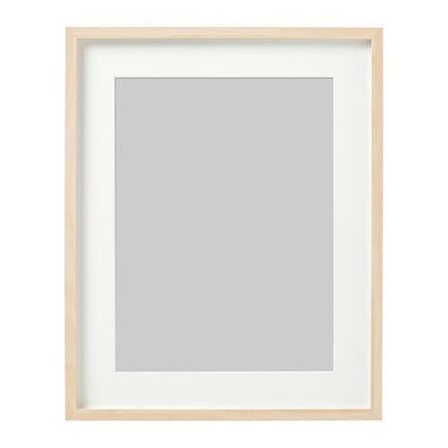 Hovsta Frame Birch Effect Birch Ikea In 2020 Picture Frame Shelves Frame Black Framed Wall Art