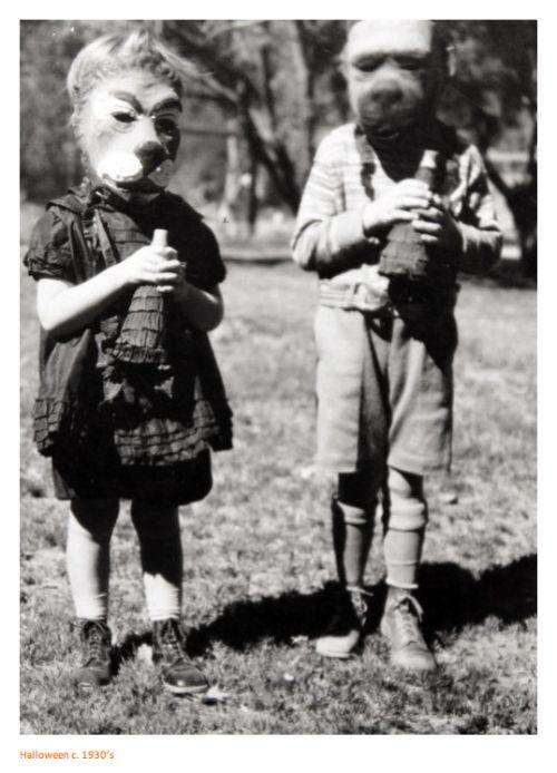 Creepy vintage Halloween from years past... | Vintage Halloween ...