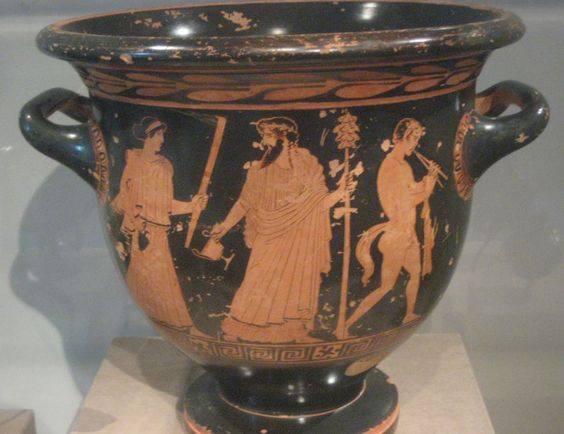 Red-Figure Bell Krater ca. 440 BC (Classical).