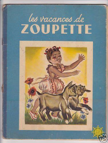 ''Les Vacances de Zoupette'' (Zoupette's Holidays), illus. Guy Sabran, 1950   eBay