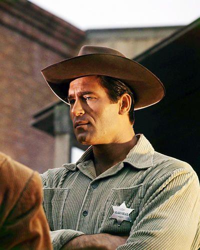 Clint Walker with U s Marshal Badge Western Movie Photo or Poster | eBay
