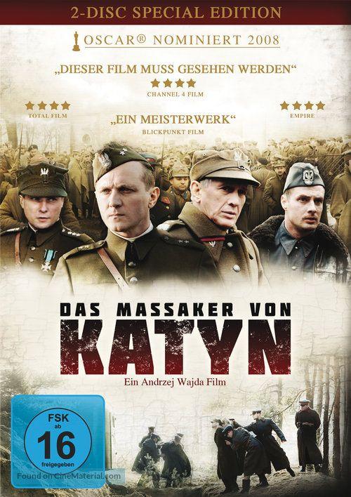 Katyn German Dvd Cover Arthouse Cinema Movie Covers Indie Films