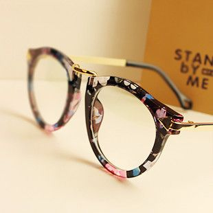 New 2014 Optical Glasses Women Round Retro Glasses Frame ...
