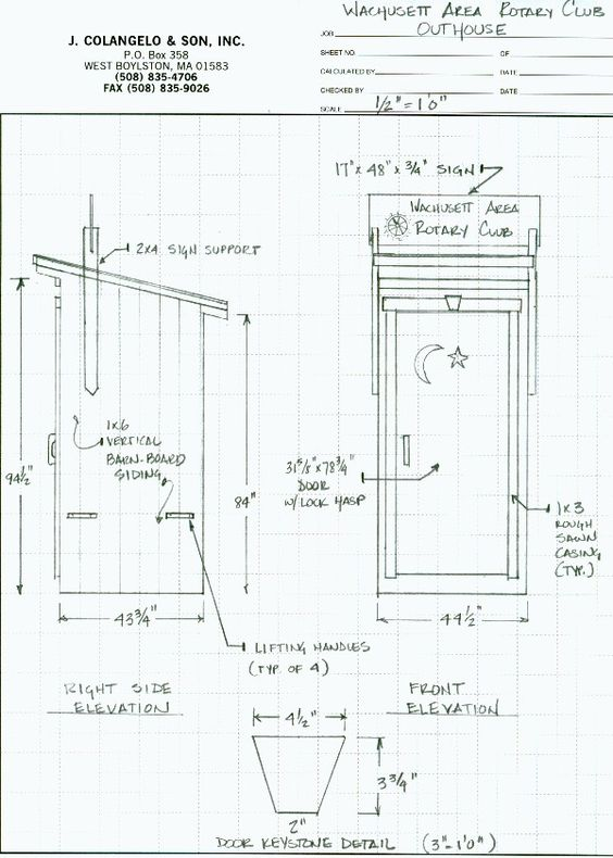 Outhouse Plans Ideas   Building Outhouses Construction Plans at    Outhouse Plans Ideas   Building Outhouses Construction Plans at WoodworkersWorkshop com