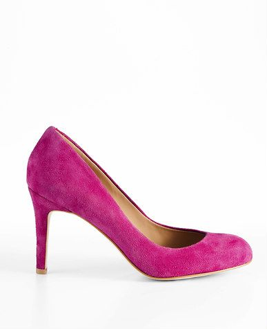 Perfect Suede Pumps