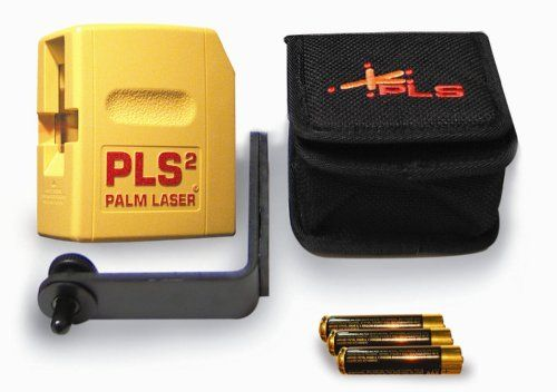 Pls Laser Pls 60528 Pls 2 Palm Laser Tool Yellow With Images Laser Laser Levels Curtain Installation