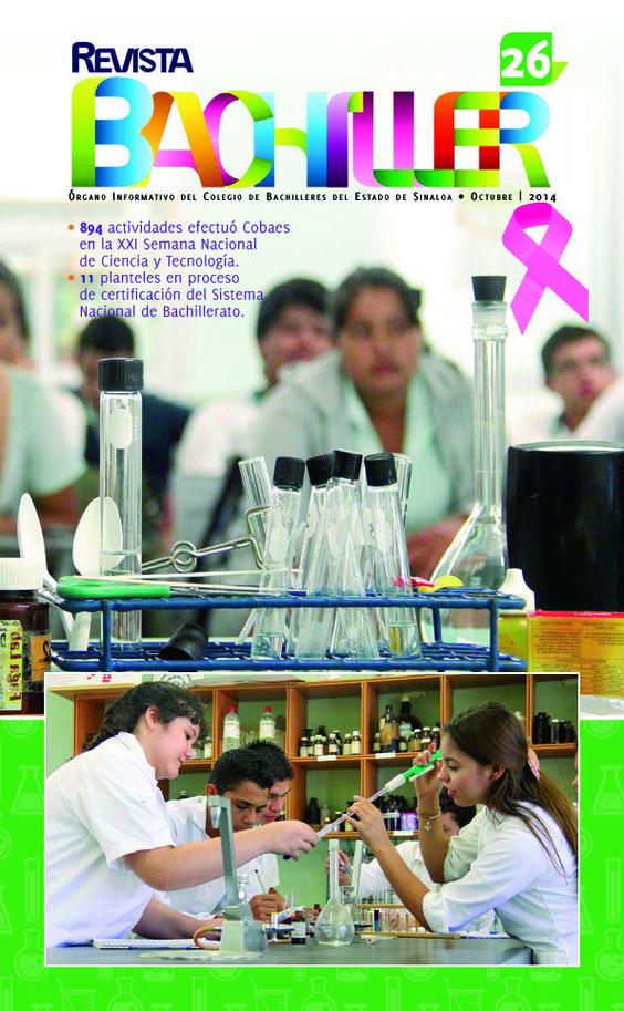 Revista Bachiller No. 26 #COBAES #Sinaloa #Educación