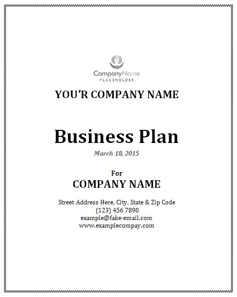 business-proposal-template-ms-word Office Templates Pinterest - sample business plan outline template