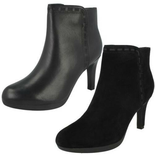 Ladies Clarks Smart Ankle Boots /'Netley Olivia/'