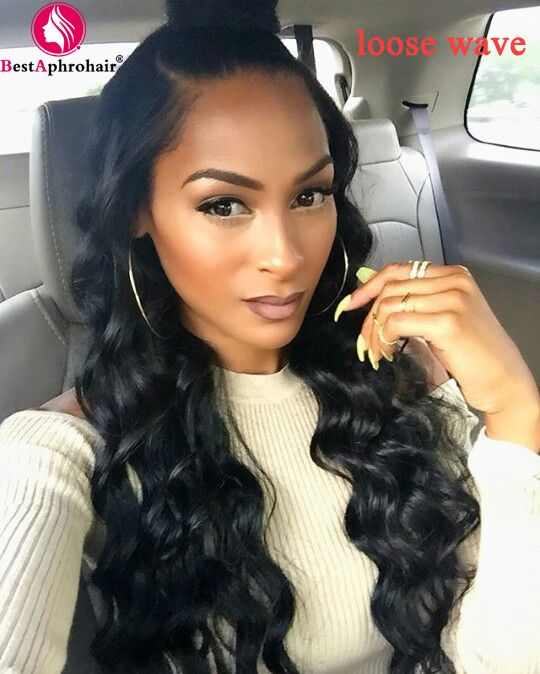 Bestaphro Remy Hair Brazilian Loose Wave 3 Pieces Loose Wave Weave 8 28 Inch 100 Remy Human Hair Extension Natural Color Hair Waving Loose Wave Brazilian L Loose Hairstyles Body Wave Hair Hair Waves