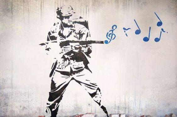 banksy - musiksoldat
