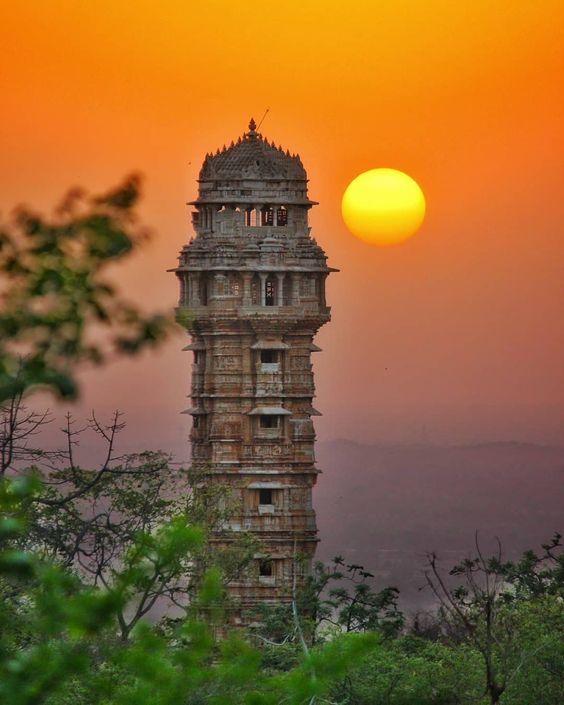 Attraction Within The Fort Of Chittorgarh