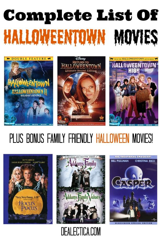 the halloweentown movies in order