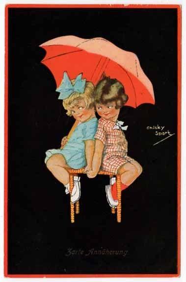 Chicky Spark postcard | eBay: