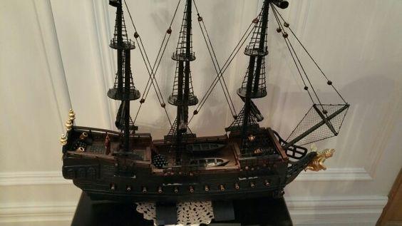La Perle Noire du Pirate des Caraïbes pour mon ptit fils Alexis en 2015