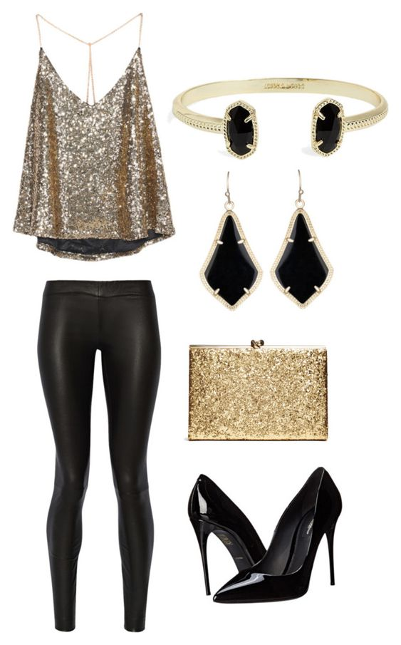 """""""New Years Eve"""" by emily-autumn-haynes on Polyvore featuring The Row, Dolce&Gabbana and Kendra Scott"""