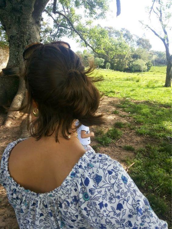FEMINA - Modéstia e elegância (por Aline Rocha Taddei Brodbeck): Meu look com legging branca
