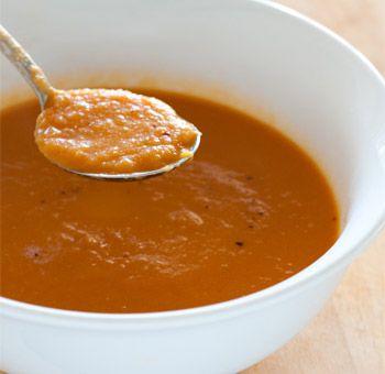 Sopa funcional - Receitas - Receitas GNT: Food Recipes, Best Healthy Recipes, Recipes Soups, Carrot Ginger Soup, Baby Carrots, Soup Recipes, Recipe Soups, Food Soups