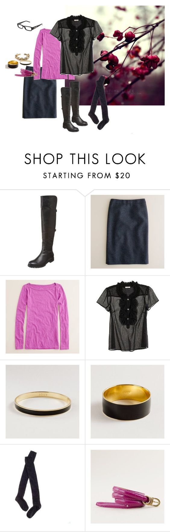Back to Work: Black Dahlia by mommysshoppingagain on Polyvore featuring J.Crew, Madewell, Cole Haan, D&G and jcrew