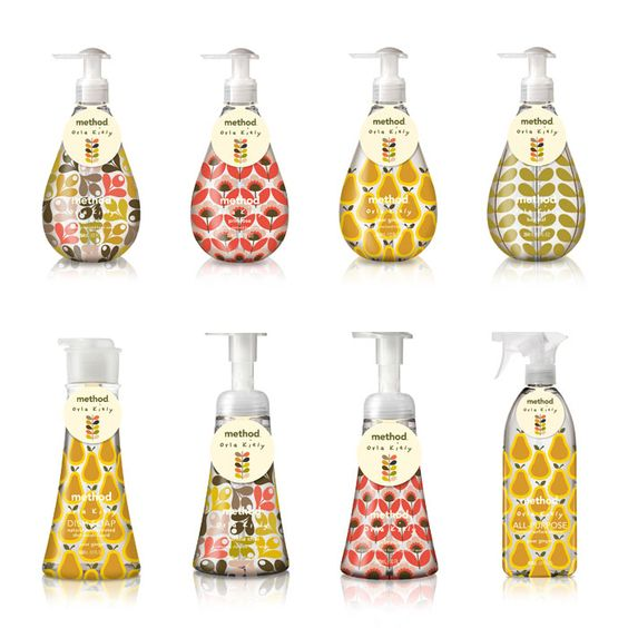 Method & Orla Kiely // The Dieline: Kiely Soap, Method Soap, Orlakiely Package, Package Design, Packaging Design, Soap Packaging, Method Products, Design Packaging, Hand Soaps