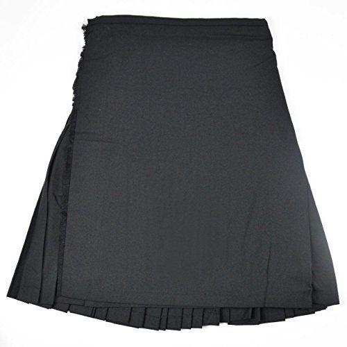 Kilt 8 Yard Black Size 28 Macdonald Sporrans…
