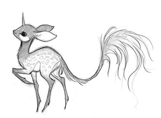 рисунки для срисовки лёгкие и красивые животные
