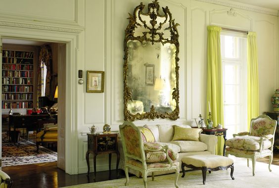 Brooke Astors Drawing Room Holly Hill.