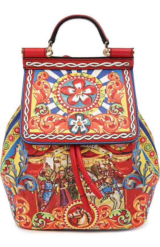 Dolce & Gabbana Рюкзак Sicily Backpack Разноцветный 123 000 Р.