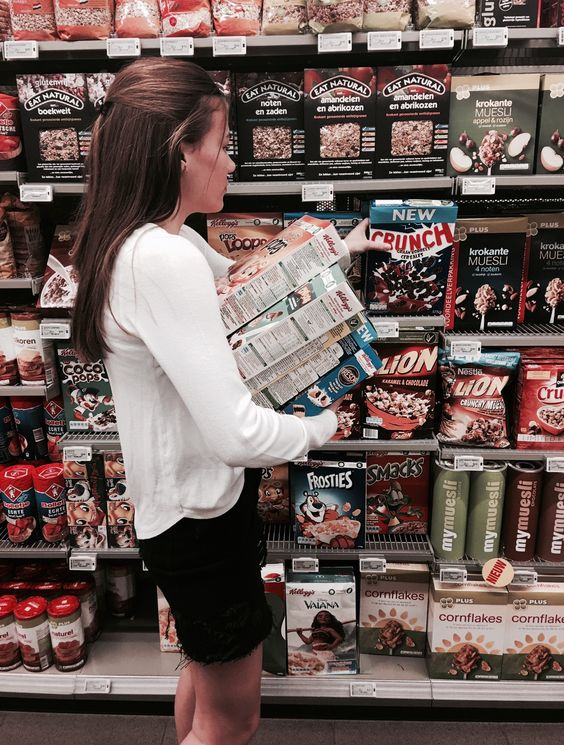 In the supermarket! tumbr