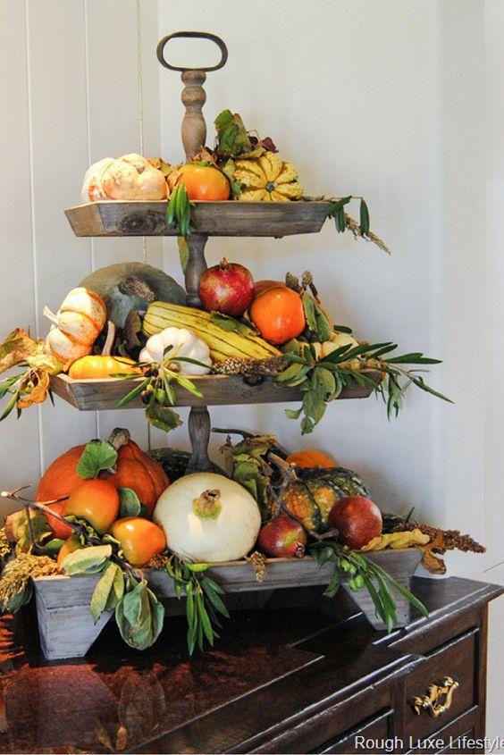 Fall Farm to Table Centerpiece