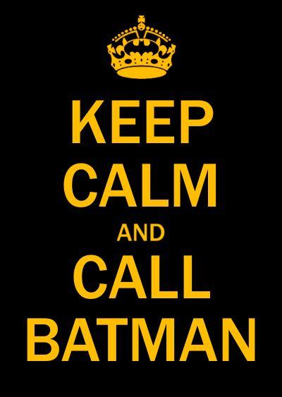 keep calm