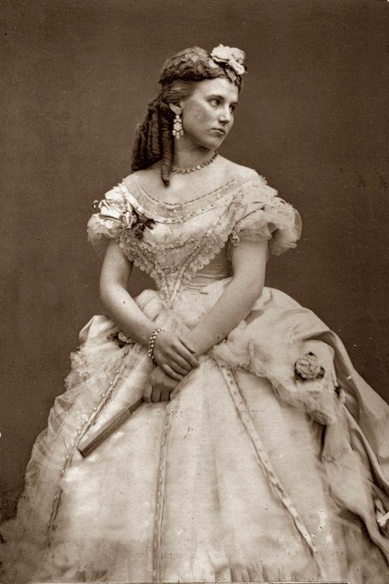 Soprano Christine Nilsson 1860s