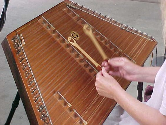 Hammer Dulcimer = beautiful instrument that I would love to learn someday...