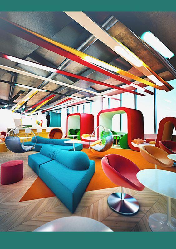 Project office BOB by Galina Lavrishcheva, via Behance