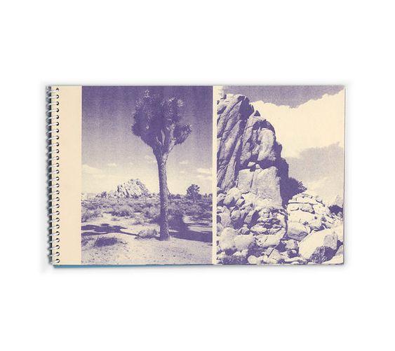 Wander Risograph Zine Joshua Tree National Park by HarryDiaz