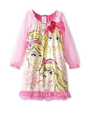 53% OFF Disney Princess Girl's 2-6X Nightgown