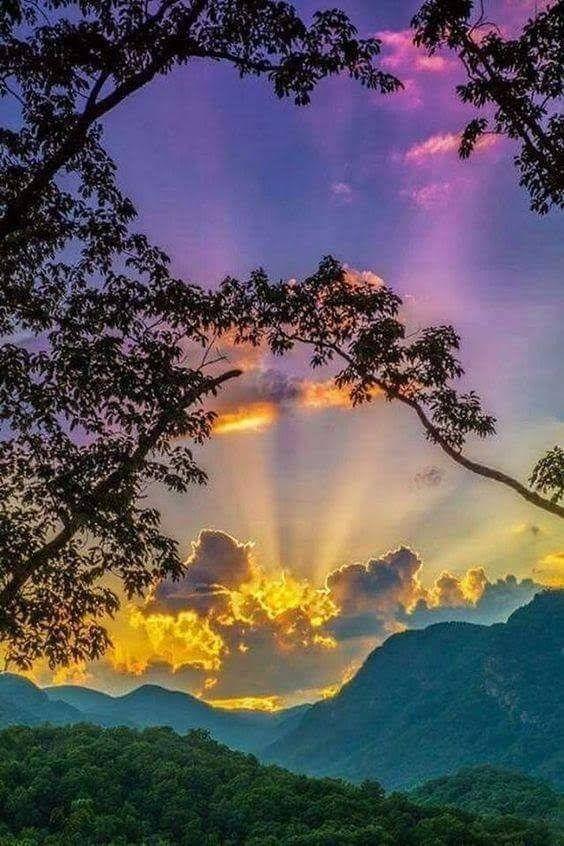 Good Morning Sweet Sunshine May You Have A Day As Glorious As This Picture Hermosos Paisajes Paisaje De Fantasia Fotografia Paisaje