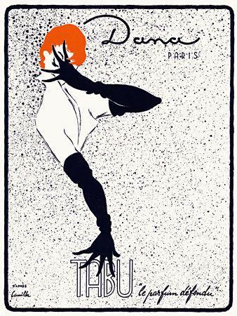 Tabu, Dana Parfumes, Paris: