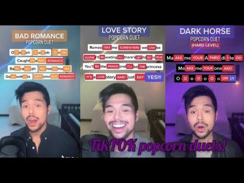 Tiktok Popcorn Singing Duet Youtube Duet Singing Videos Mashup Music