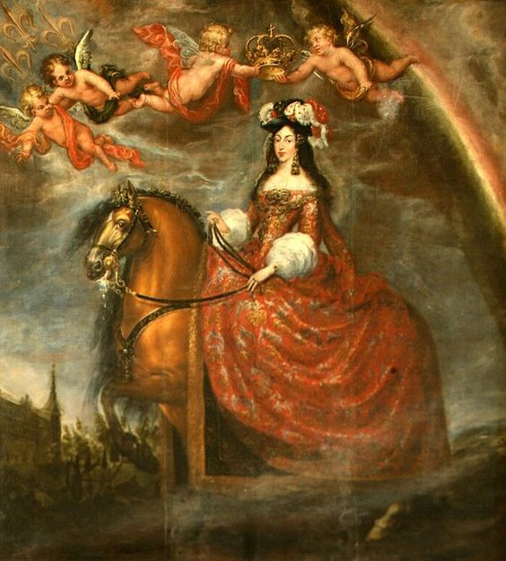 1679 Maria Luisa de Orleans by Francisco Ricci (Ayuntamiento de Toledo, Toledo Spain)   Grand Ladies   gogm