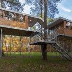 Casa en el árbol por Baumraum. #madera #ecología #arquitectura
