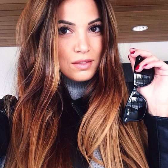 Brunette Balayage Self Hair Pinterest Brunettes