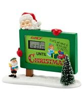 Department 56 Collectible Figurine, North Pole Village Countdown to Christmas