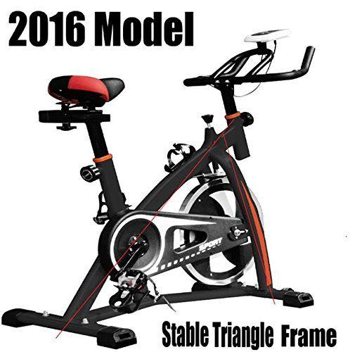 Progen New Heavy Duty Spin 18kg Flywheel Aerobic Training Bike